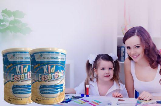 Lựa chọn sữa Kid Essentials cho bé biếng ăn, chậm lớn