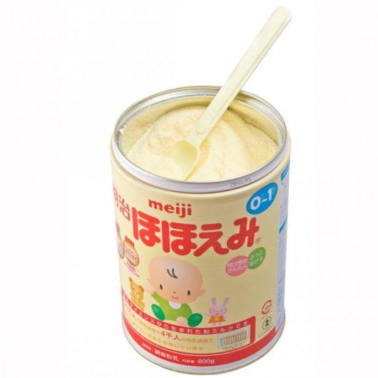 Sữa bột Meiki số 0 chứa nhiều thành phần quan trọng trong sự phát triển của bé