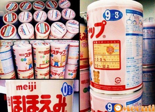 Sự xuất hiện của nhiều dòng sữa Meiji số 0 trên thị trường làm khách hàng hoang mang