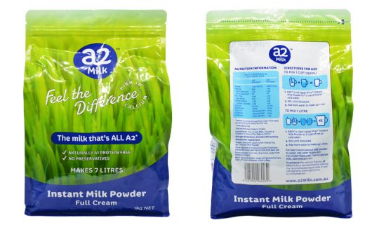 Sữa tươi A2 được sản xuất theo dây chuyền chuẩn tại Úc