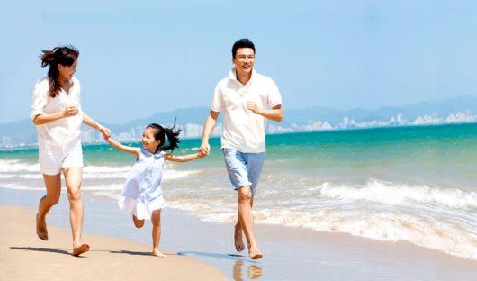 Cơ thể khỏe mạnh là tiền đề cho hạnh phúc gia đình luôn luôn bền chặt