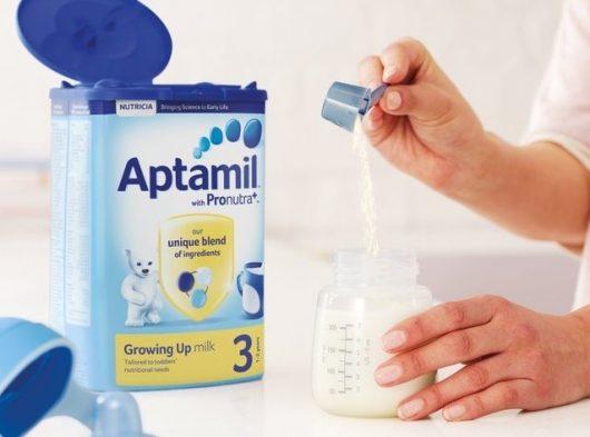Các mẹ nói gì về sữa aptamil Anh