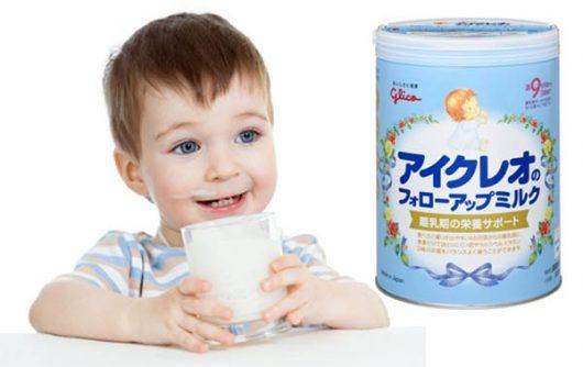 Sữa Sữa Icreo số 9 Nhật Bản dành cho bé