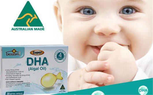 Bổ sung thêm các sản phẩm bổ sung DHA cho bé