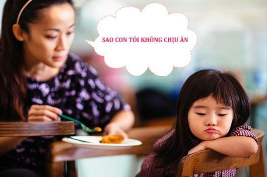 Khắc phục tình trạng trẻ biếng ăn bằng cách nào