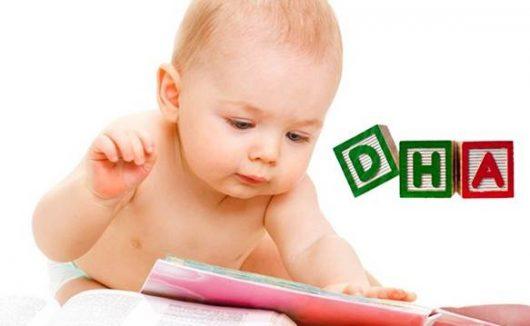 Lựa chọn dòng sữa có chứa nhiều thành phần DHA