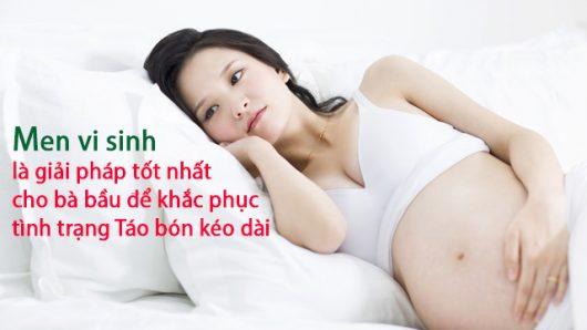Hội chứng táo bón kéo dài trong thời kì mang thai và giải pháp khắc phục