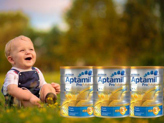 Aptamil Úc - Sự lựa chọn tối ưu cho trẻ sơ sinh và trẻ nhỏ