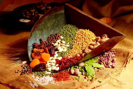 Ngũ cốc là dòng thực phẩm chứa nhiều kẽm cho bé