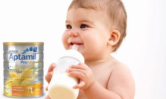 Sữa Aptamil Úc là lựa chọn hàng đầu dành cho bé yêu>/center>
