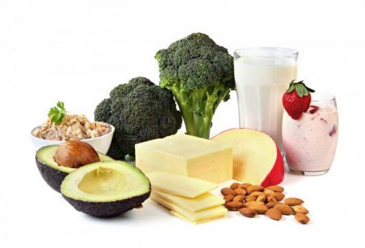 Những thực phẩm chứa nhiều canxi