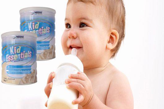Sữa Kid Essentials là sự lựa chọn hàng đầu dành cho trẻ biếng ăn, chậm lớn