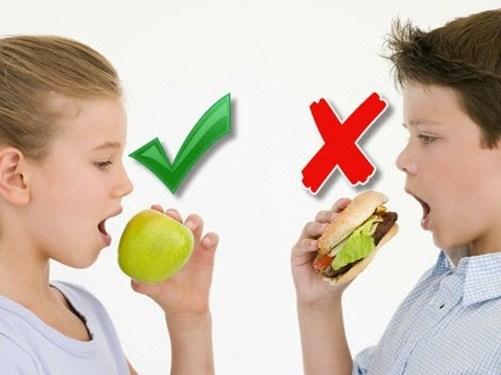 Chế độ dinh dưỡng cho trẻ thừa cân nặng