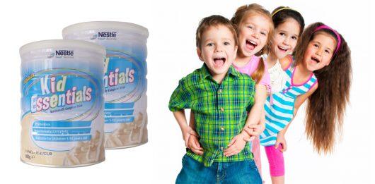 Sữa Kid Essential mang đến hàm lượng dinh dưỡng cao dành cho bé biếng ăn, chậm tăng cân