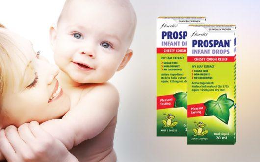 hãy lựa chọn tinh chất ho Prospan Úc dành cho bé