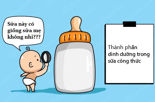 Nhiều bé yêu thích dòng sữa giống với sữa mẹ nhất