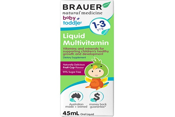 Vitamin Brauer cho trẻ 1-3 tuổi