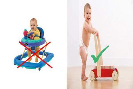 Các nhà khoa học chứng minh xe tập đi không có tác dụng hỗ trợ bé biết đi nhanh hơn