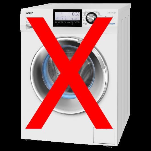 Chăn lông cừu không được giặt bằng máy giặt