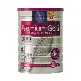 Sữa hoàng gia Premium Gold 2 Follow-on Fomula 900g (Dành cho trẻ từ 6 - 12 tháng)