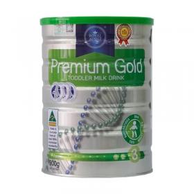 Thực phẩm bổ sung dinh dưỡng hoàng gia Premium Gold 3 Toddler Milk Drink 900g (Dành cho trẻ từ 1 - 3 tuổi)