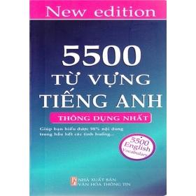 5500 Từ Vựng Tiếng Anh (Thông Dụng Nhất)