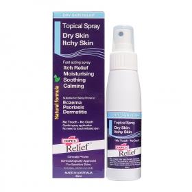Xịt dưỡng ẩm, giảm ngứa làm dịu da tức thì Hope's Relief Topical Spray 90ml
