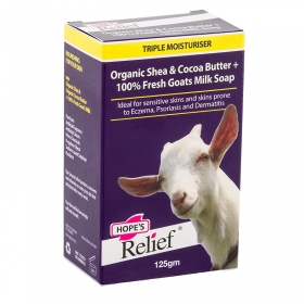 Xà bông Hope's Relief cho da nhạy cảm, eczema, vảy nến, viêm da (125g)