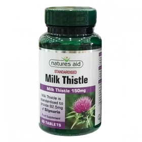 Giải độc gan Natures Aid Digest Eeze Milk Thistle 60 viên