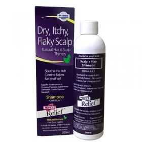 Dầu gội cho da đầu có gầu, khô ngứa Hope's Relief Itchy Flaky Scalp Shampoo 200ml