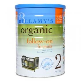 Sữa Bellamy's organic số 2 cho bé từ 6 - 12 tháng tuổi