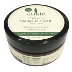 Đắp mặt nạ thanh lọc da Sukin Purifying Facial Masque (100ml)