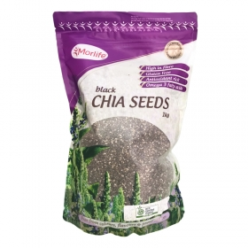 Hạt Chia Seeds Black Morlife túi 1kg