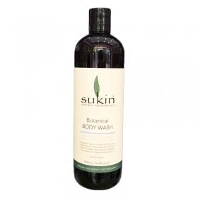 Sữa tắm thảo dược chanh và dừa Sukin Botanical Body Wash Lime & Coconut (500ml)