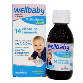 Vitamin tổng hợp Wellbaby cho bé từ 6 tháng đến 4 tuổi 150ml