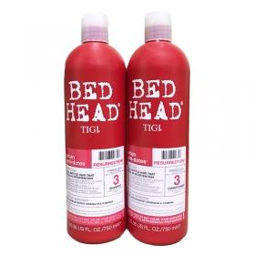 Cặp đôi Bed Head Tigi đỏ số 3 dành cho tóc hư tổn nặng