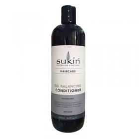 Dầu xả thảo dược kiềm dầu Sukin Oil Balacing Conditioner 500ml
