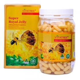 Sữa ong chúa Vitatree Super Royal Jelly 1600mg 365 viên