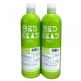 Cặp đôi Bed Head Tigi xanh lá số 1 tái tạo sinh lực cho tóc