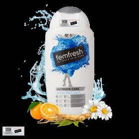 Dung dịch vệ sinh phụ nữ cao cấp năng động Femfresh Active Fresh Wash 250ml
