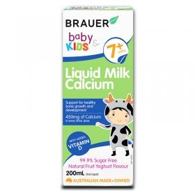 Bổ sung Canxi sữa Brauer cho trẻ từ 7 tháng tuổi (200ml)