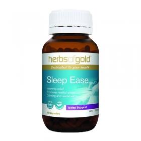Viên uống hỗ trợ giấc ngủ Herbs of Gold Sleep Ease 60 viên