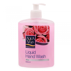 Nước rửa tay tinh chất hoa hồng Aquavera 500ml