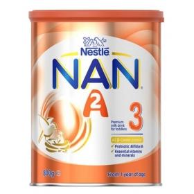 Sữa Nan A2 ÚC số 3 cho bé từ 12 tháng tuổi 800g