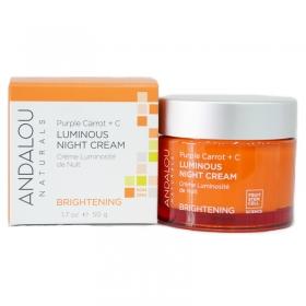 Kem dưỡng da ban đêm làm sáng da Luminous Night Cream Andalou 50g