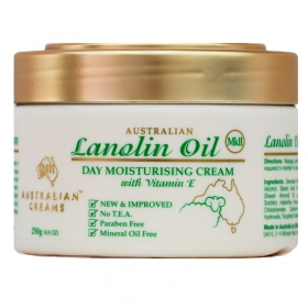 Kem dưỡng da ban ngày Australian Lanolin Oil Day Moisturising Cream MKII 250g
