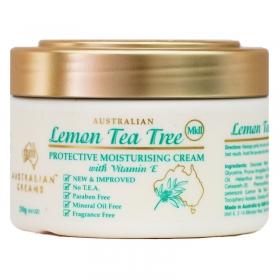 Kem dưỡng ẩm tinh chất trà chanh Australian Lemon Tea Tree Protective Moisturising Cream MKII 250g