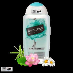 Dung dịch vệ sinh phụ nữ cao cấp cho da nhạy cảm Femfresh Pure & Fresh Wash 250ml