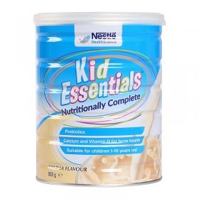 Thực phẩm bổ sung dinh dưỡng Kid Essentials Nestle Úc 800g vị Vani cho trẻ biếng ăn từ 1-10 tuổi
