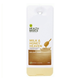 Sữa tắm New Zealand Mật Ong & Sữa Health Basics Body wash Milk & Honey Heaven 400ml
